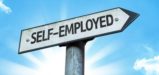 Take advantage of being self-employed
