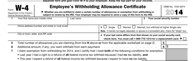 Should you adjust your withholding for 2014?