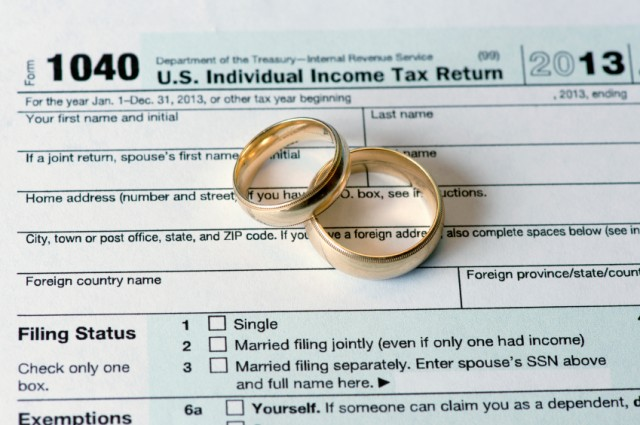 Tax Tips for Those Getting Married