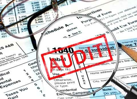 IRS tax audits cut by budget issues