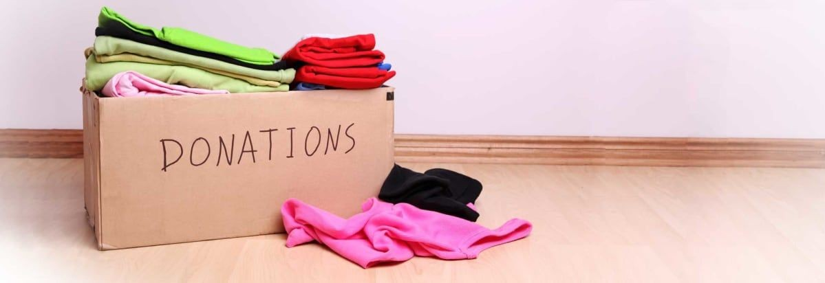 Don't forget to document your spring cleaning donations