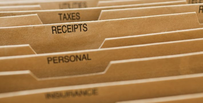 Now is a Great Time to Organize Your Tax Records
